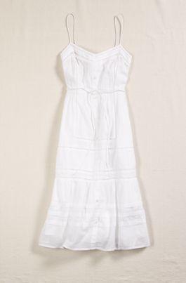 White dress ae