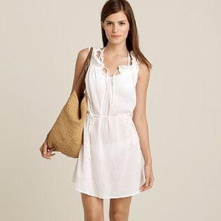 White dress j crew